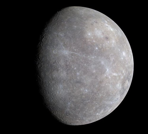 Mercury Photo by NASA and Wikipedia