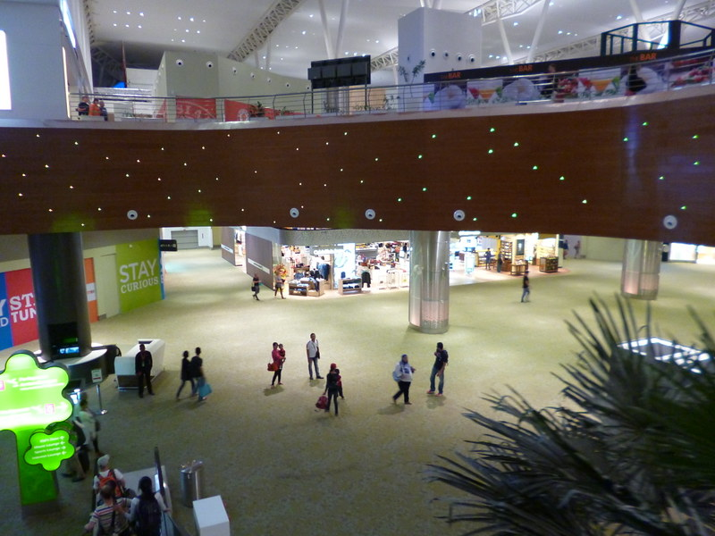 KLIA2 depature hall