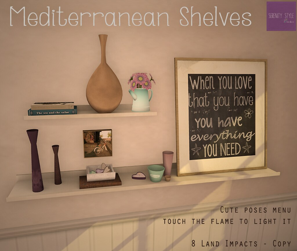 Mediterranean Shelves