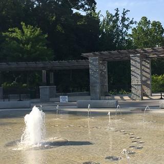 Piedmont Park fountain