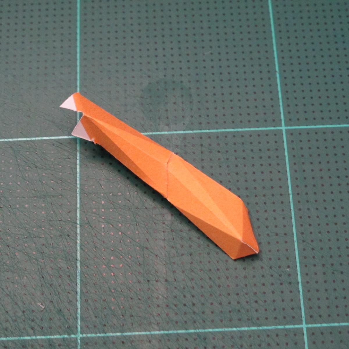 วิธีทำโมเดลกระดาษตุ้กตา คุกกี้รสราชินีสเก็ตลีลา จากเกมส์คุกกี้รัน (LINE Cookie Run Skating Queen Cookie Papercraft Model) 013