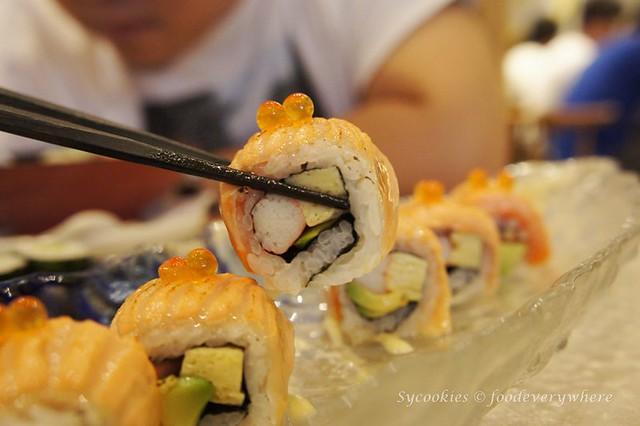 3.2 inaho-Aburi Salmon Roll  RM22