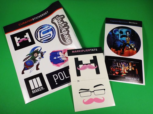 Loot Crate May 2014 - Adventure stickers