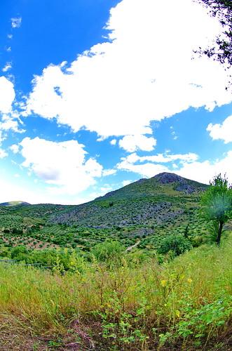 countryside country greece griechenland campagne grèce mycenae mycènes