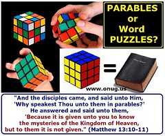 Parables or Word Puzzles?