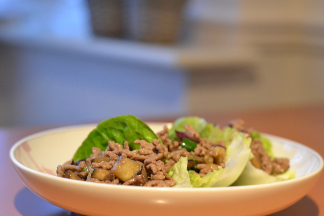 Daisybutter - UK Style and Fashion Blog: recipe, chinese lettuce wraps
