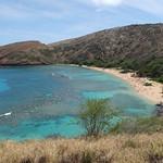 Die schönste Bucht Oahu's: Hanauma Bay.