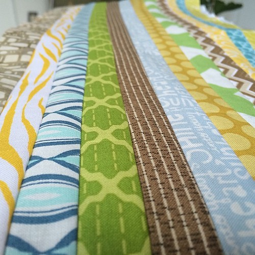 Three more to go! #vacationdayquilting