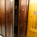Stained double wardrobe