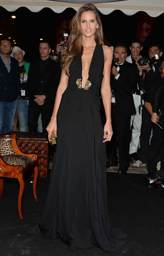 4 Izabel Goulart in Roberto Cavalli (2)at Roberto Cavalli Dinner Party in Cannes