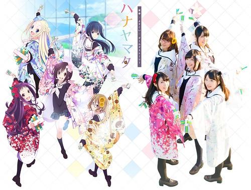 140623(2) - 國中生『YOSAKOI 鳴子舞祭』電視動畫版《ハナヤマタ》(花舞少女)於7/7首播、第二批聲優&預告片公開! 1