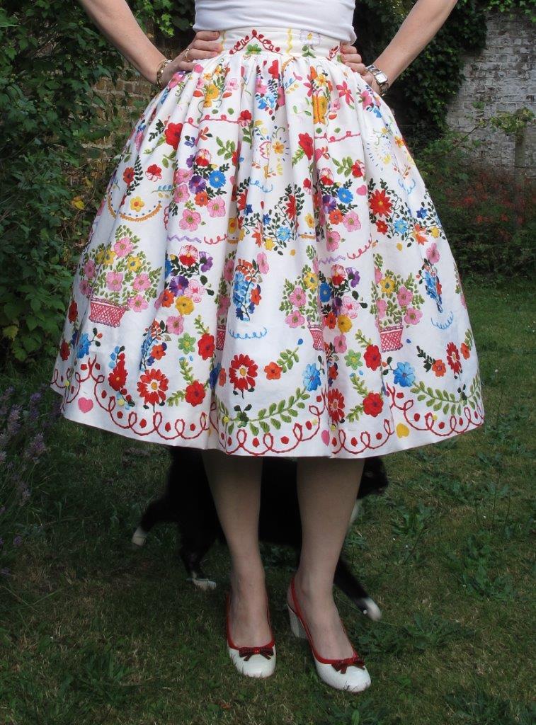 I made a skirt