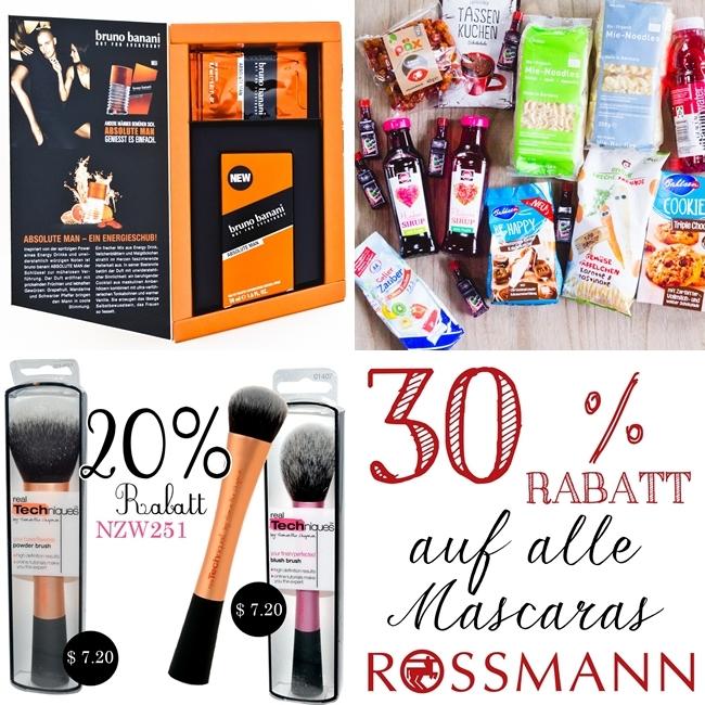 Degustabox, Degustabox Mai 2014, Rossmann 30 % Mascara, iHerb Bestellung, iHerb Gutschein, Bruno Banani Absolute Man