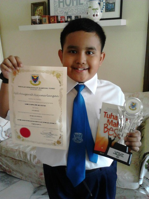 Amir 27.6.14 - School award