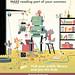 TD Summer Reading Club 2014 poster by John Martz