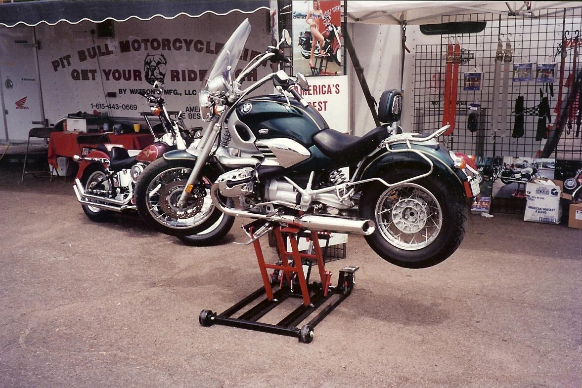 Подъёмник для мотоцикла своими руками 124