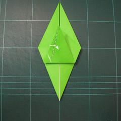 วิธีพับกระดาษเป็นรูปหอยทาก (origami Snail) 007