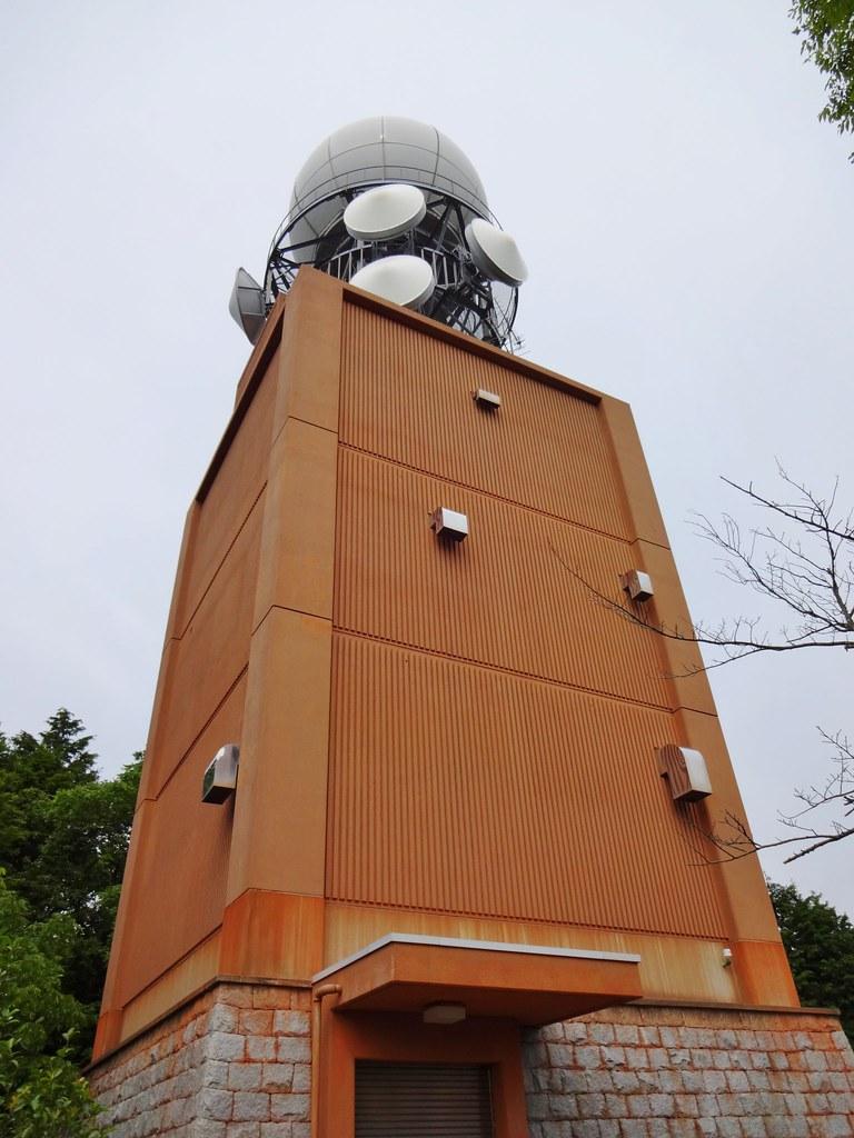 大和山レーダー観測所