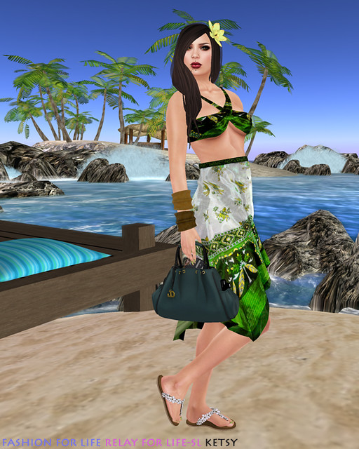 Wrapped Up In The Surf & Sand - Fashion For Life, RFL-SL