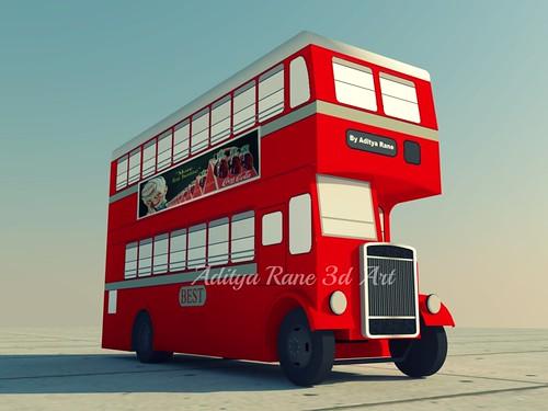 BEST Double Decker Bus (Retro)