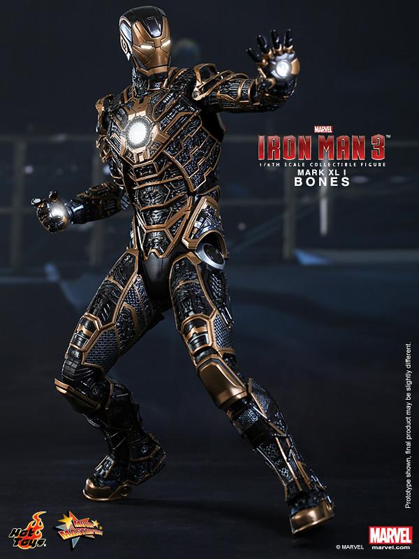 Hot Toys - Iron Man 3 - Bones (Mark XLI) Collectible Figure_PR2