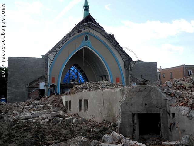Eglise Notre-Dame-de-la-Paix demolition 15/06/14 1