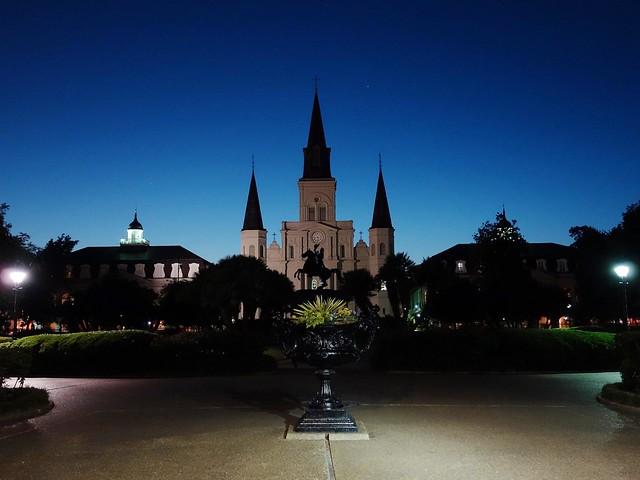L'heure bleue à la Nouvelle-Orléans