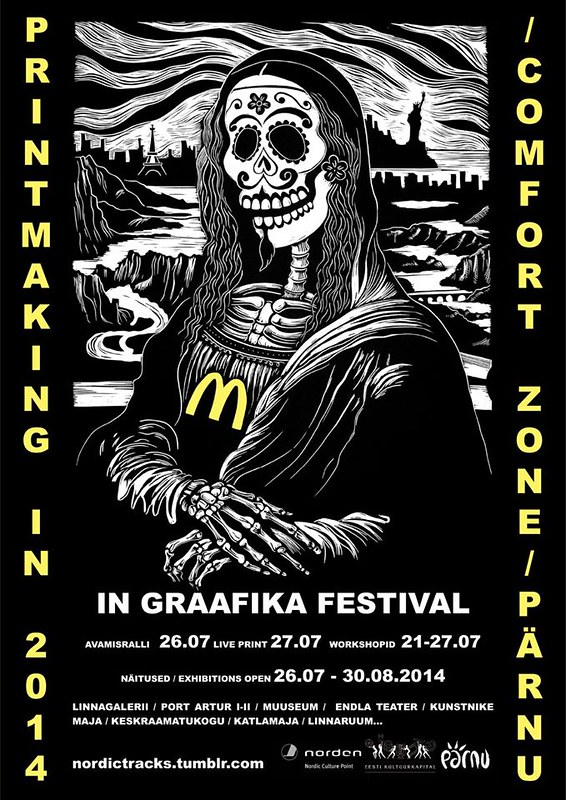 PRINTMAKING IN / IN GRAAFIKA Festival 2014