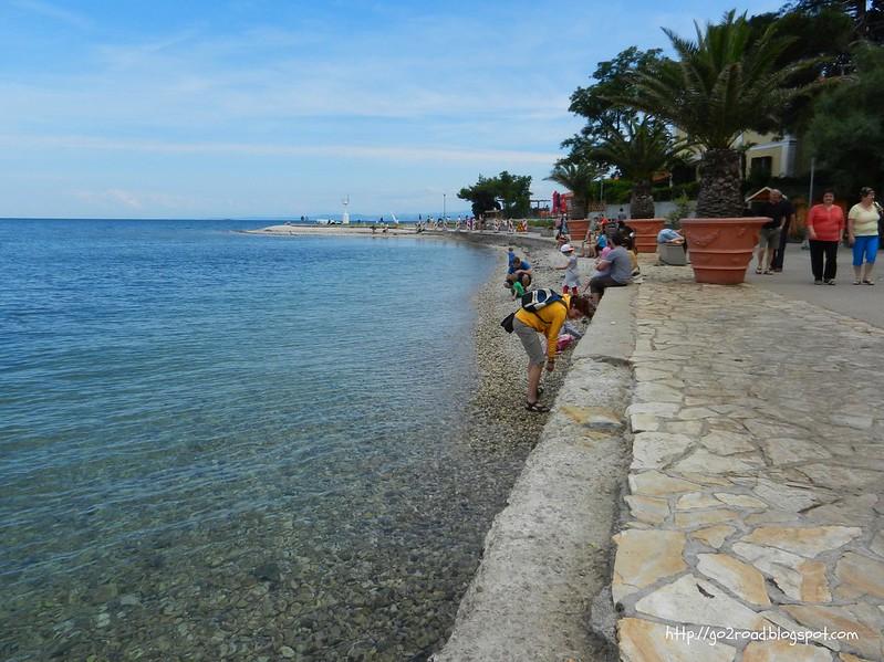 Изола.Пляж