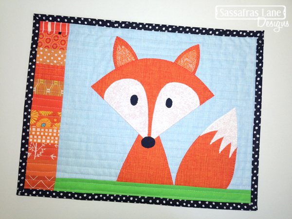 Mr. Fox Mini Quilt