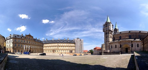 Panorama In Bamberg, Germany