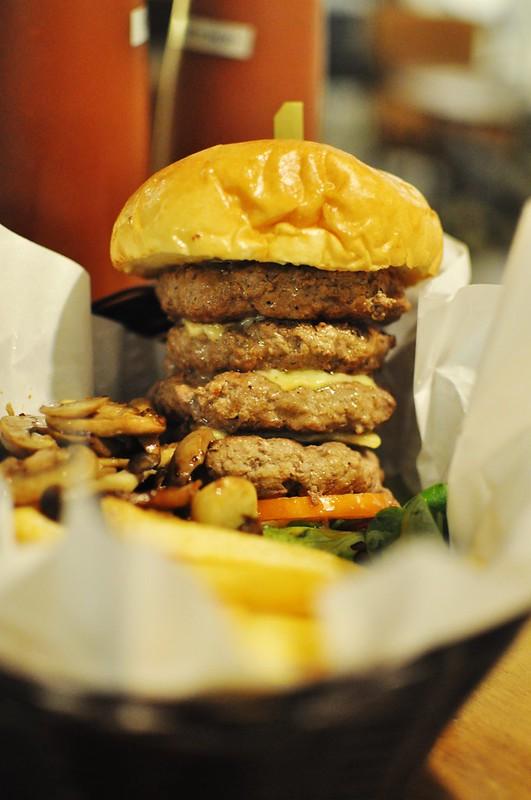 quad burger
