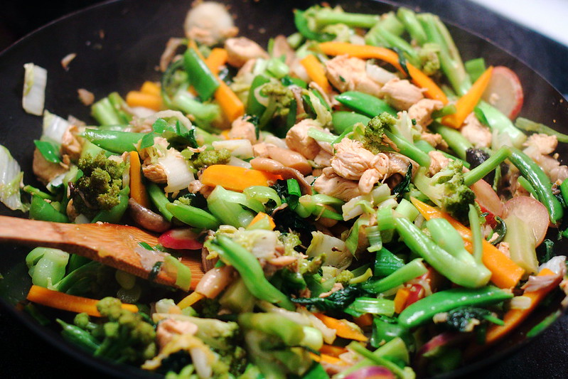 Sunday Dinner: Super Veggie Stir Fry
