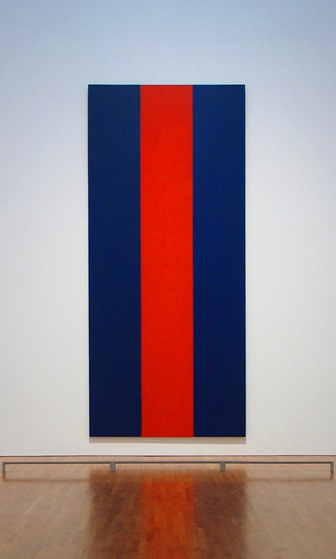 Barnett Newman Voice of Fire National Gallery of Canada