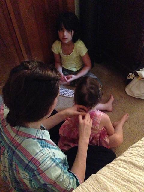 Mommy's hair salon