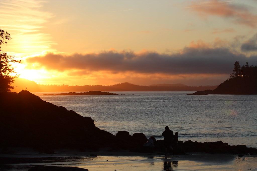 Mackenzie Beach Sunset - near Tofino, BC