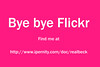 Bye bye Flickr