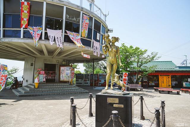 尾道 千光寺公園山頂上展望台