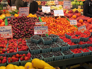 Berries at Pike Place Market