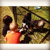 Feeding baby (or pygmy perhaps) goats was the highlight of my morning. Silas thought it was pretty fun too.