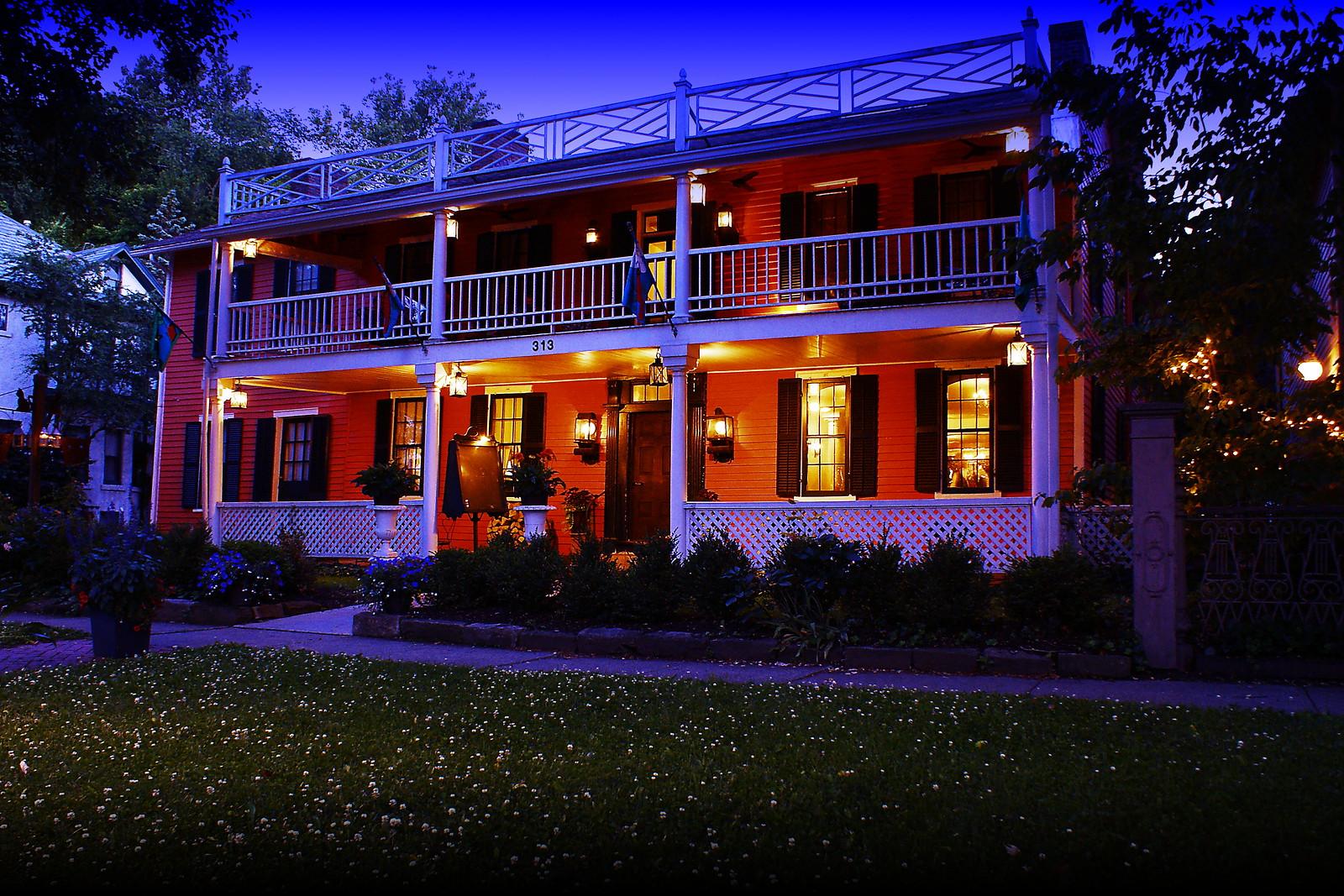 Granville Inn Haunted Buxton Inn Granville Ohio