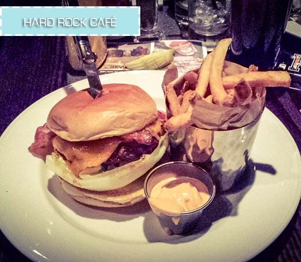 stylelab travel blog NYC food Hard Rock Cafe
