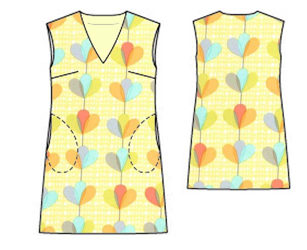 a line tank dress mock up 2