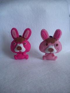 Conejos de Fieltro