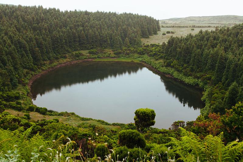 lagoa do peixinho, ilha do pico