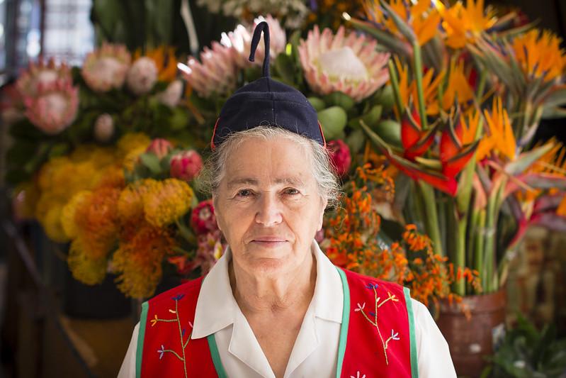 Florist in Mercado dos Lavradores #1 - Funchal, Madeira