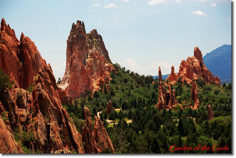 Panorama of the Garden of the Gods 1