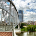 Shelby Street Pedestrian Bridge by Amy Allmand photography
