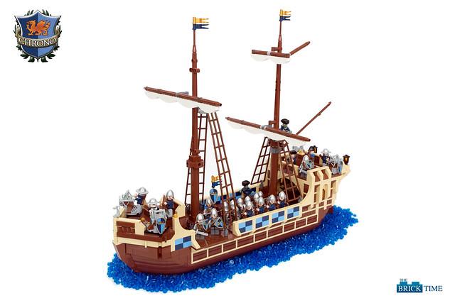 Truppentransporter der Reichsflotte
