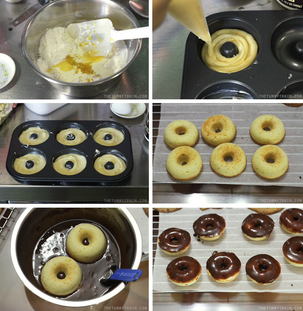 14667006882 2a92f7cfd8 b - My first two recipes using my new tiny doughnut pan